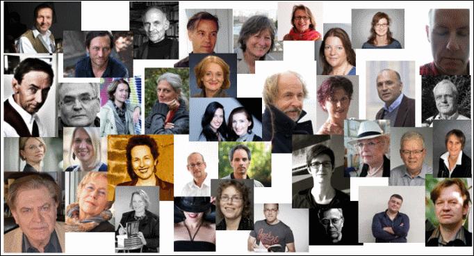 200 Schriftsteller im Interview - vom Bestsellerautor bis zum Newcomer. (c) siehe Fußnote