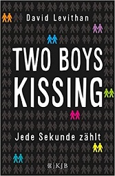 two boys kissing levithan